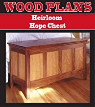 HEIRLOOM HOPE CHEST WOODWORKING PAPER PLAN PW10054