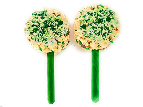 Best Review Of Popped Passion Original Popcorn Pop with Green M&Ms and White Chocolate, Gluten Free,...