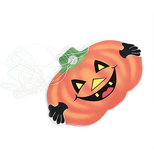 Brownrolly Halloween pompoen papier slinger decoratie Halloween decoratie hanger