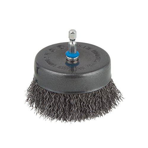 Wolfcraft wire cup brush Ø 80 mm, hexagon shank 1/4'' (6.35 mm), 2109000'