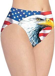 Bandera de American Eagle impresión de la Ropa Interior de Las Mujeres, Muchachas Lindas Bragas de Talle bajo Calzoncillos