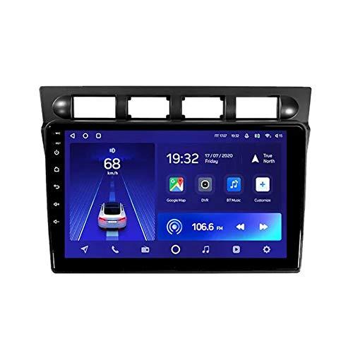 MGEM 2 DIN Autoradio 9 Pollici Touchscreen Bluetooth Stereo Radio Supporto FM/1080P Video/USB/AUX in/Specchio Link/Controllo del Volante, per Kia Picanto SA Morning 2004-2007,Octa Core,4G WiFi 4+64