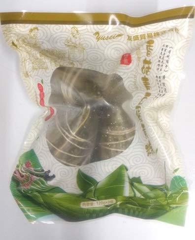 冷凍粽子  臻徳斎 香�鱒ツ豆蛋黄粽 120gX3個(1袋)、中華ちまき、端午節♪