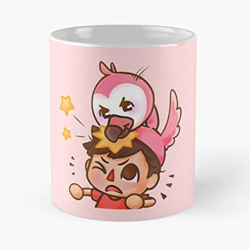 92Novafashion Albert Pink Albertsstuff Flamingo Youtube La Mejor Taza de café de cerámica de mármol Blanco de 11 oz
