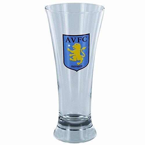 Officiële Aston Villa voetbal Crest Pilsner bier glas (Gelicentieerd Souvenir)
