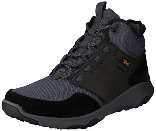 Teva Mens Arrowood Venture Mid Waterproof Boot, Black, Size 9.5