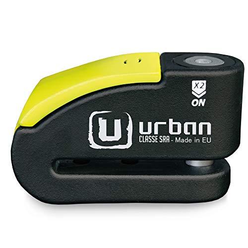 Urban Security 999 Candado Antirrobo Disco Alta Seguridad con Alarma
