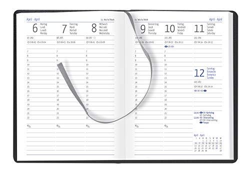 GÜSS Taschenkalender, 1 Woche = 2 Seiten, DIN A6