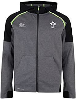 Canterbury Ireland Rugby Vaposhield Full-Zip Hoody, Grey