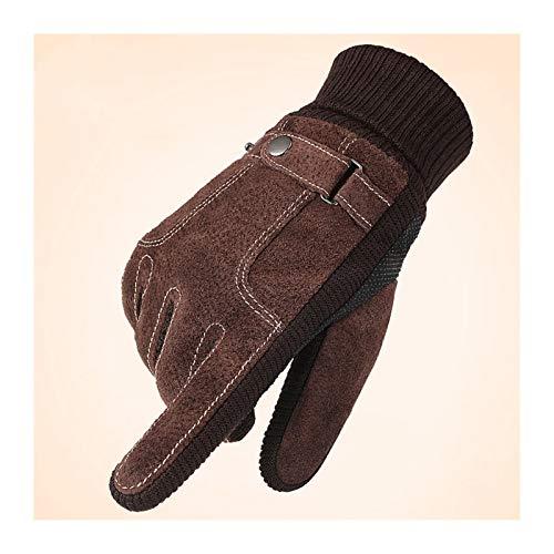 Pantalla táctil impermeable Guantes cálidos Winter Gloves cálidos para el clima frío al aire libre Guantes de invierno para conducir, andar en bicicleta, motocicleta, correr, mantener las manos calien