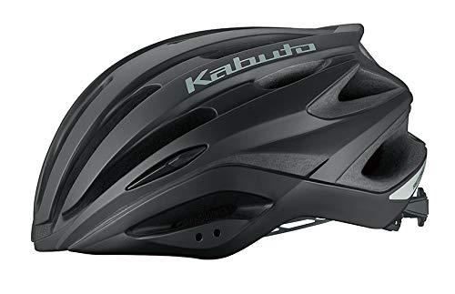 オージーケーカブト(OGK KABUTO) 自転車 ヘルメット REZZA-2(レッツァ-2) マットブラック サイズ:M/L(頭囲:57-60cm)