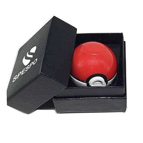 Imagen del producto Spespo Pokemon Grinder Pokeball Spice Mill 3 Piezas 2 pulgadas trituradora