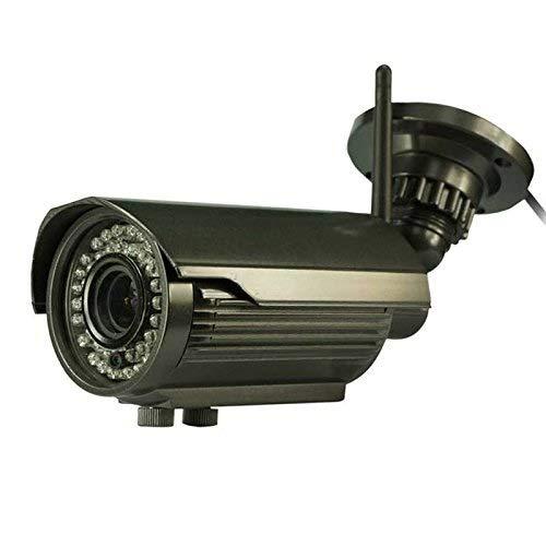 CZ HD-Überwachungskameras IPCC-B24L H.264 1080P Drahtloses wasserdichtes Netzwerk IR-Bullet-Überwachungskamera mit 2,0-Megapixel-Objektiv (2,8-12 mm), Bewegungserkennung und 40-m-IR-Nachtsicht-Überwac