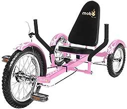 Mobo Triton Recumbent Trike. Kids 3-Wheel Bike. Youth Cruiser Tricycle