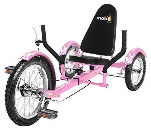 Mobo Triton Recumbent Trike | Kids & Youth Cruiser Tricycle