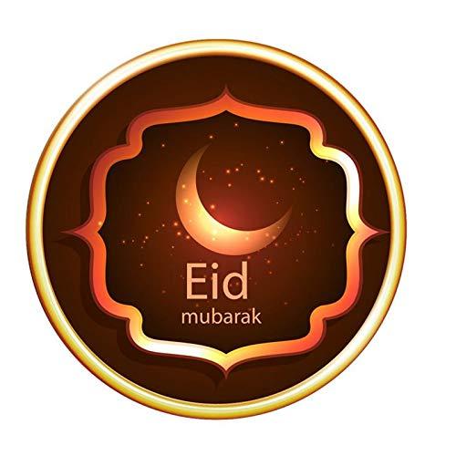Eid Mubarak Ramadan Spiegel Dreidimensionale Wandaufkleber Dekoration Schlafzimmer Removable Vinyl Wall Muslim Sign Waterproof Decals Stickers Wall Art Stickers Wohnzimmer Wandaufkleber