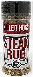 Killer Hogs Steak Rub - Steak and Chop Seasoning