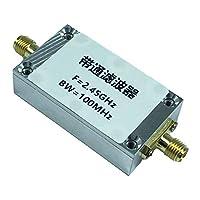 Shiwaki 2.4G2450MHzバンドパスフィルターWiFiZigbee妨害防止特殊用途