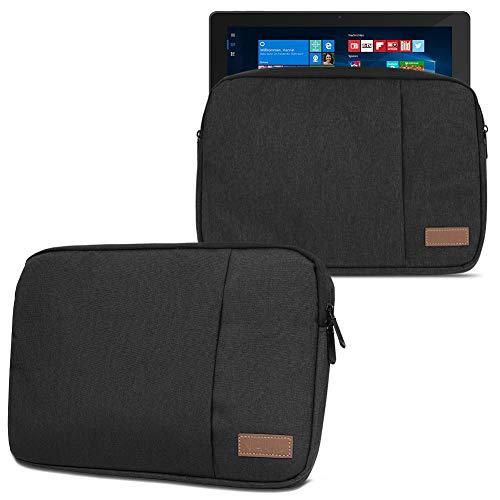 NAmobile Schutzhülle kompatibel für Wortmann Terra Pad 1162 11,6 Zoll Hülle Tablet Tasche in Schwarz oder Grau Hülle Cover, Farbe:Schwarz