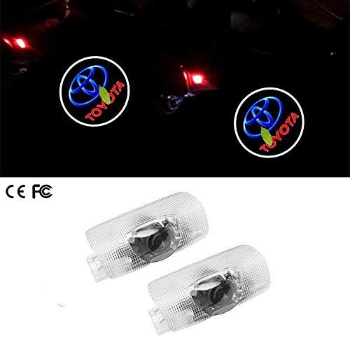 Luz de bienvenida de la puerta del coche 4 x Logo logo Lá
