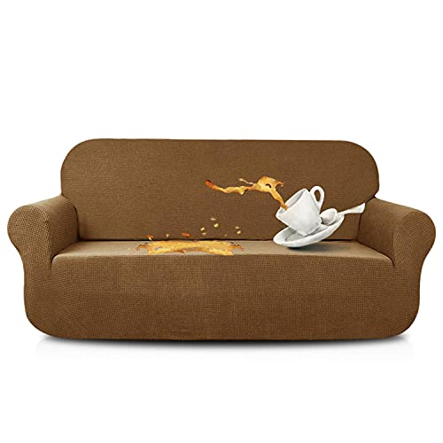 N\C XIKUO Funda de sofá Grande elástica Fundas de sofá repelentes al Agua Perro Gato Fundas de sofá a Prueba de Mascotas Protectores