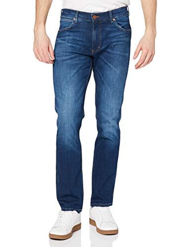 Wrangler Herren Greensboro Regular Jeans, For Real 027, 48W / 32L