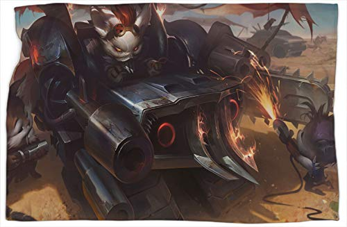 Badlandsbaron Rumble League Legends - Manta para cama (127 x 152 cm)