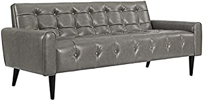 Amazon.com: DHP 2172009 Miller Futon Sofa Bed, Black ...