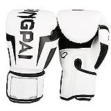 NOERTYB Guantes De Boxeo Kick Boxing Gloves Para Hombres Adultos Mujeres Muay Thai Fight Fight Sanda Training Adultos Equipo Para Niños