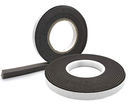 Komprimierband 40/8 │ anthrazit │ 1 Stück │ 4,3 m lang │ Rollenbreite: 40 mm, Fugenbreite: 8-40 mm │ Fugendichtband │ Quellband
