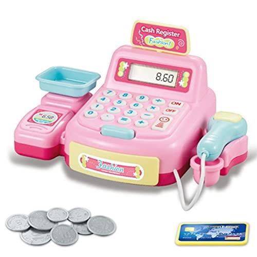 OocciShopp Juguete de Caja registradora, Juguetes educativos para niños Cajas registradoras de...
