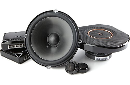 "Infinity Reference REF-6530CX 6.5"" 2-Way Car Audio Component Speakers (270W Peak 90W RMS)"