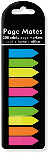 Neon Arrows Page Markers (Set of 200 Sticky Notes) (Bookmarks)