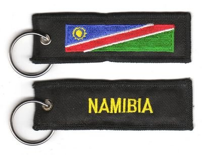 Schlüsselanhänger Namibia Anhänger Fahne Flagge NEU