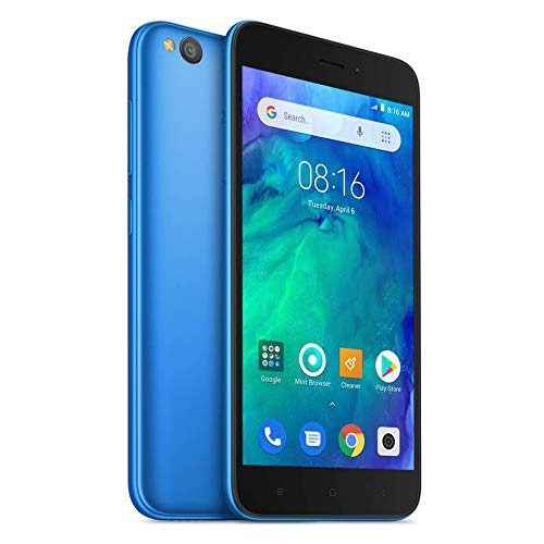 Xiaum Redmi Go 8GB Mobile, Blue, Android 8.1 (Oreo) Go Edition