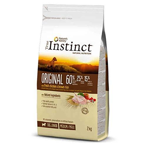 True Instinct - True Instinct Original Junior con pollo - 1940 - 600 Grs.