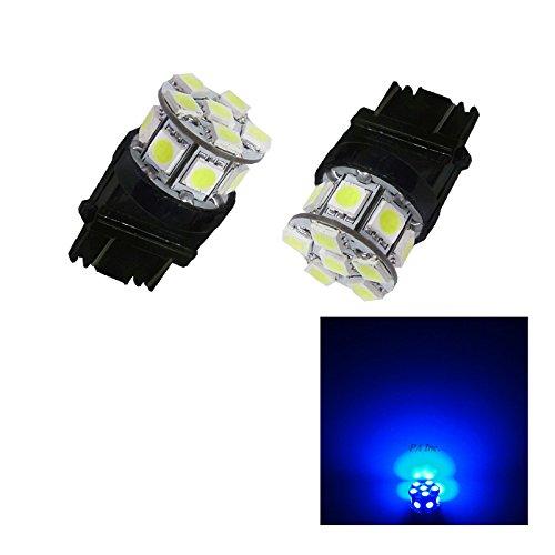 PA 2 x 13smd LED 3157 3457 A 3156 Arrêt automatique de la lumière/arrière/Side Marker Light/feu arrière/Turn Signal ampoules 12 V (Bleu)
