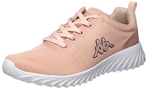 Kappa Damen CES MF Sneaker, 7110 dk.rosé/White,39 EU