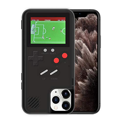 LIOWE Gameboy Case for iPhone, 3D Handheld Retro Game Console Phone Protective Case with 36 Small Game, Shockproof Video Game Case for iPhone X/Max/XS, iPhone8/8 Plus, iPhone 7/7 Plus, iPhone 6/6Plus