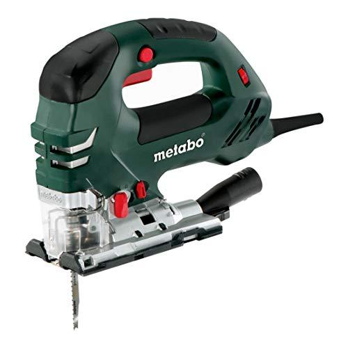 Metabo Stichsäge STEB 140 Plus (601404700) metaBOX 145, Nennaufnahmeleistung: 750 W, Abgabeleistung: 420 W, Schnitttiefe Holz: 140 mm