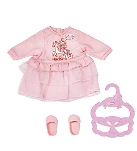 Baby Annabell 704110 Little Sweet Pony - Kleidung für 36cm Puppen - Für Kleinkinder ab 12 Monaten - Einfach für kleine Hände - Beinhaltet süßes Kleid, Leggings und Kleiderbügel