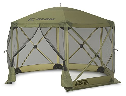 Quick Set 9281 Escape Shelter Popup Tent, 12 x 12, Green