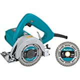 Makita 4100NHX1 4-3/8' Masonry Saw, with 4' Diamond Blade, Blue