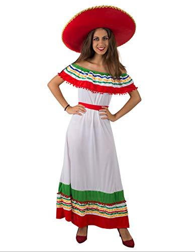 PARTY FIESTA Disfraz Mexicana(L)
