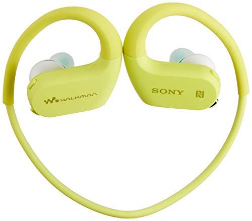 ソニー ヘッドホン一体型ウォークマン Wシリーズ NW-WS623 : 4GB スポーツ用 MP3プレーヤー Bluetooth対応 防水/海水/防塵/耐寒熱性能搭載 外音取込み機能搭載 ライムグリーン NW-WS623 G