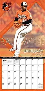Baltimore Orioles: 2020 12x12 Team Wall Calendar