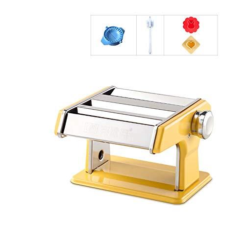 WEIFAN-1 Handpressmaschine/Haushalt manuelle Teigwarenmaschine, 2mm feine Oberfläche, 4mm breite Oberfläche, Wildleder, Knödelhaut usw. (D)
