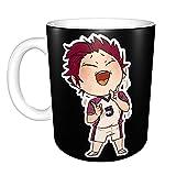 Tendou Satori - Tazza da caffè in ceramica, divertente e divertente, per casa, ufficio, per feste