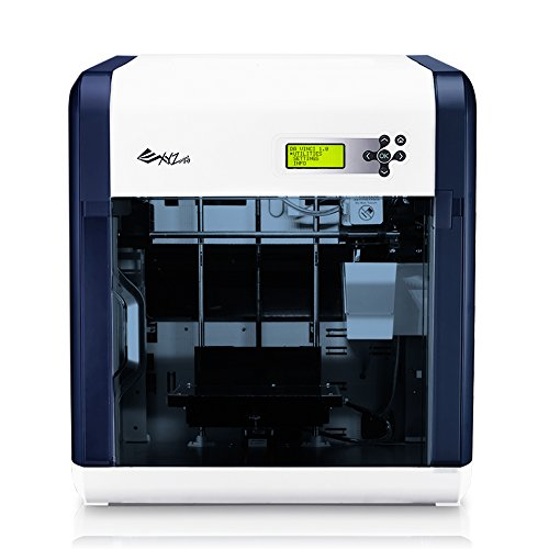 da Vinci 1.0 3D Printer - 7.8' x 7.8' x 7.8' Built Volume (Fully Enclosed Design for ABS/PLA/Flexible Material)
