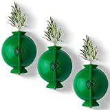 Plant Root Growing Box Ball(3 Pack) Assisted Cutting Rooting Device, Plant Rooting Device, Assisted Cutting for Botany Root Controller Garden Yard Indoor/Outdoor (Small, Green)